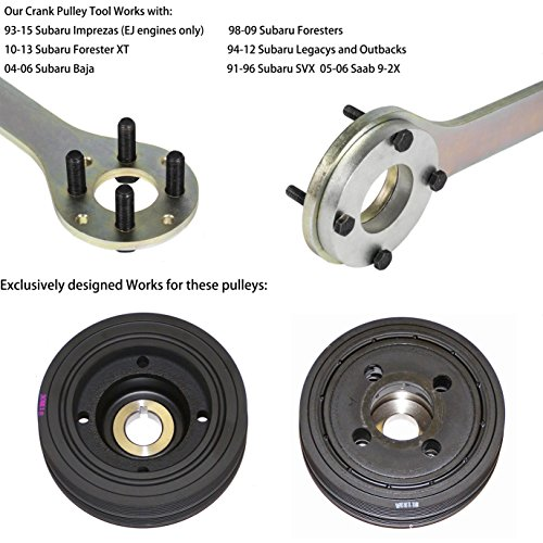 EnRand New Version Crank Pulley Tool for Subaru by EnRand (Image #1)