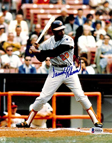 Autographed Frank Robinson Photo - 8x10 BAS 1 - Beckett Authentication - Autographed MLB Photos