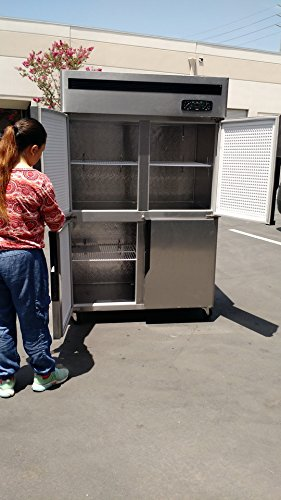 Four Door Combination Refrigerator and Freezer R32 coolerdepot