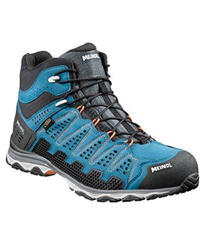 Meindl Zapatos X de So 70MID GTX Surround Men–Azul/Naranja, hombre, 42 2/3, 8,5 UK 42 2/3