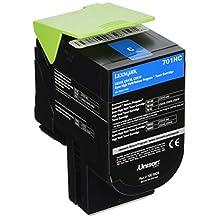 Lexmark 701HC Cyan High Yield Return Program Toner Cartridge -Cyan -Laser -3000 Page -OEM