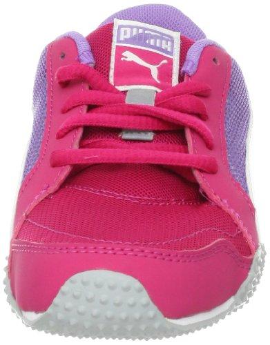 Puma H-Mesh Fashion Sneaker (Toddler/Little Kid/Big Kid) Cabaret/White/Bougainvillea Purple