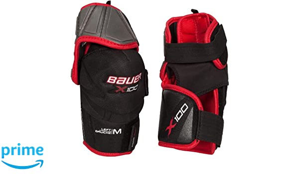 eefbb50383d Amazon.com   Bauer Vapor X100 Elbow Pads  JUNIOR    Sports   Outdoors