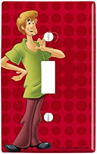 GRAPHICS & MORE Scooby-Doo Shaggy Character Plastic Wall Decor Toggle Light Switch Plate Cover