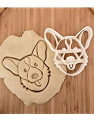 Loki the Corgi Cookie Cutter and Dog Treat Cutter - Dog Face