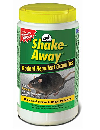 Shake Away 5006358 Rodent Repellent Granules, 5-Pound ()