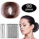 Hair Nets Invisible Elastic Edge Mesh and U Shaped