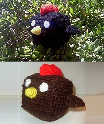 Crochet Chicken Amigurumi Different Colors Available Baby Cock Block Plush