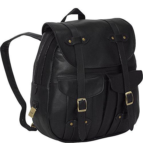 Clava Leather Rucksack Backpack (Vachetta Black)