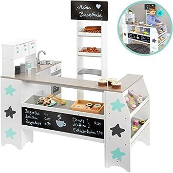 Musterkind - Magasin de boulanger-pâtissier - Petites étoiles blanches