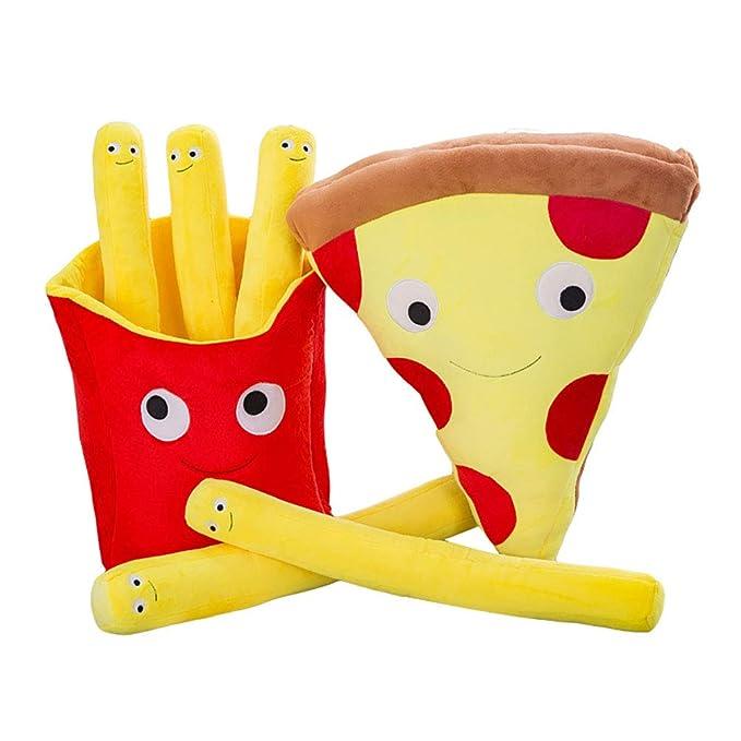 Amazon.com: ELLIS Peluche Juguetes Pizza/Francesa Fries ...