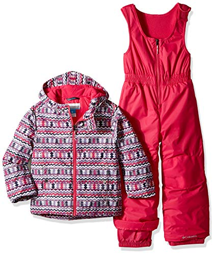 Columbia Kids & Baby Toddler Kids Frosty Slope Set, Rosewater Zigzag Print, 3T ()