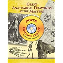 Great Anatomical Drawings by the Masters CD-ROM and Book