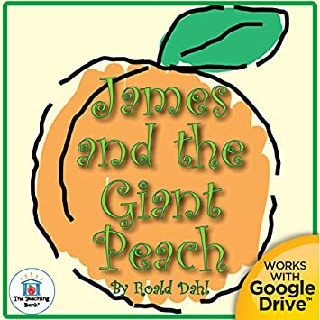 Amazon.com : James and the Giant Peach Novel Study Unit CD ...