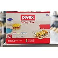 Pyrex 22-Piece Food Storage Container Set