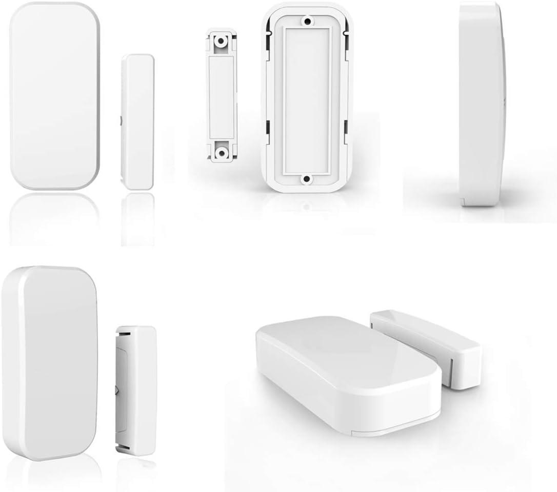 Secrui D026 Home Door Fensterkontaktsensor Drahtlos F/ür Einbruchmeldeanlagen Mit Magnetischer Oberfl/ächenspalte Mit WiFi f/ür 433-MHz-Alarmsysteme 1