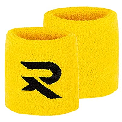 Raquex Cotton Wristbands Sweat bands made specifically for racquet sports Suitable for squash tennis badminton use Cotton stretchy material snug fit Estimated Price £3.99 - £36.99 -