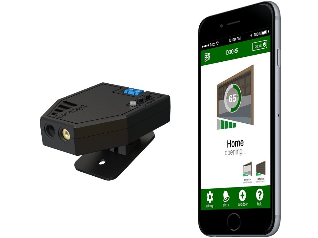 Garadget remotely control and monitor your existing garage door garadget remotely control and monitor your existing garage door with smartphone voice home automation and other devices amazon rubansaba