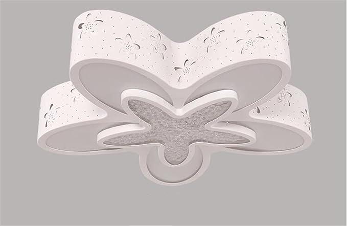 Plafoniera Fiori Bianca : Malovecf ferro led fiore lampada da soffitto plafoniera