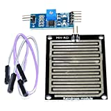 TOOGOO(R) Snow/Raindrops Detection Sensor Module Rain Weather Module Humidity For Arduino