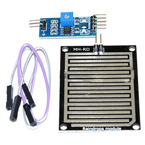 SODIAL(R) Snow/Raindrops Detection Sensor Module Rain Weather Module Humidity For Arduino