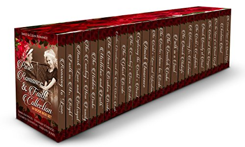 Pure Romance & Faith Collection 24 Book Box Set (Sweet, Clean & Wholesome Box Set)