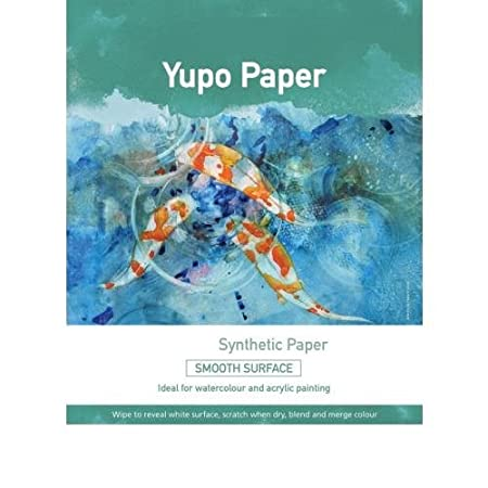 Yupo Painting Paper 25 loose sheets A3 420x297mm (25)