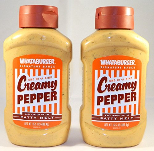 Whataburger Creamy Pepper Signature Sauce  15 5 Oz    Pack Of 2