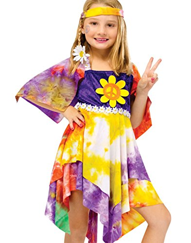 Daisy Hippie Toddler Costumes (Daisy Hippie Child Costume - Large)