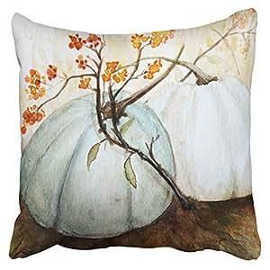 Amazon.com: accrocn fundas de almohada decorativo blanco ...