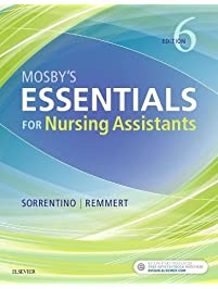 Amazon nursing home care books mosbys essentials for nursing assistants fandeluxe Image collections