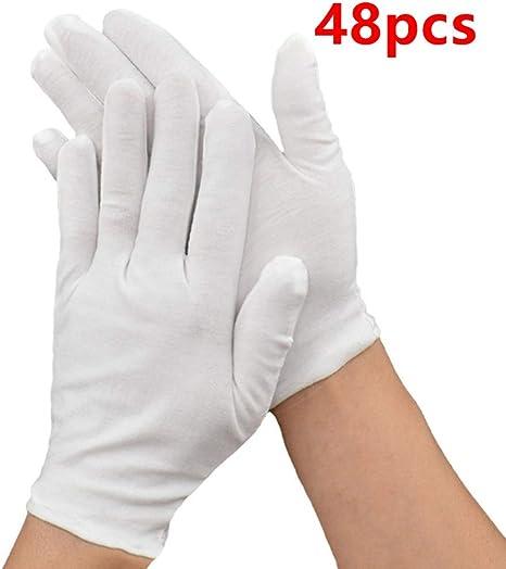 duquanxinquan - Guantes de algodón hidratantes para manos secas ...