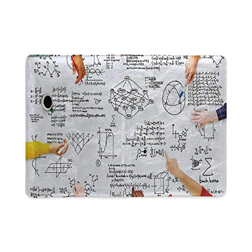 Mathematics Classroom Decor Utility Notebooks,Research Solving Problems Studying Brainstorming Concept Image Decorative for Work,5.82