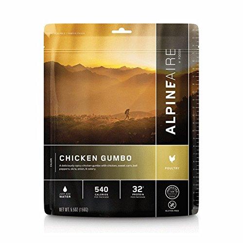 Alpine Aire Foods Chicken Gumbo (Serves 2)