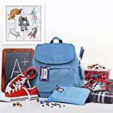 Best Kid Galaxy Laser Tags - Personalized Waterproof Weatherproof No-Sew School Package including Labels Review