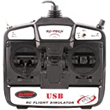 GoolRC 6CH USB 3D RC Hélicoptère Avion Simulateur de Vol