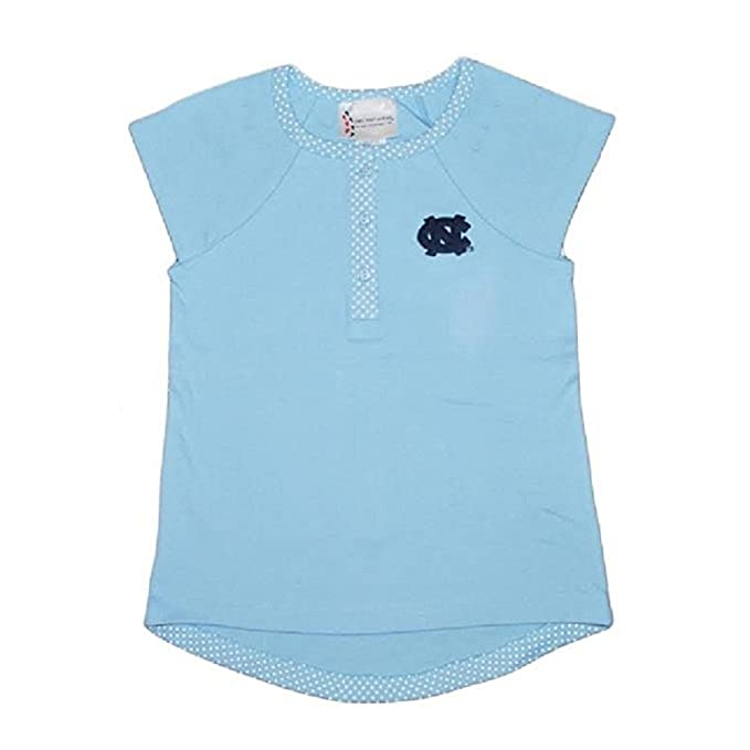 4c1e0f192 Amazon.com  Toddler Girls North Carolina Tar Heels Pin Dot Shirt ...