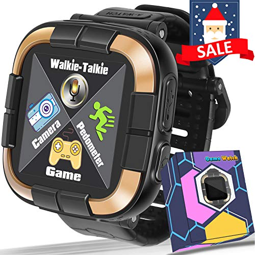 GBD New Kids Games Smart Watch Fitness Tracker [Walkie Talkie Pro ]