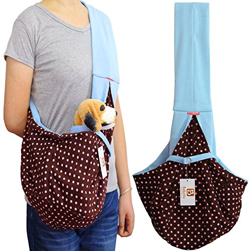 Amazon I'Pet Handsfree Reversible Small Dog Cat Sling Carrier Beauteous Dog Sling Pattern