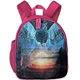 Spirit Owl With The Sun Boys Girls Unique School Backpack For Outdoors