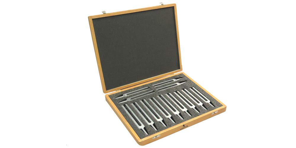 Chromatic Tuning Forks, Superior Grade Set of 13