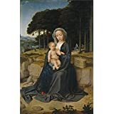 'David Gerard Rest on the Flight from Egypt Ca. 1515 ' oil painting, 8 x 12 inch / 20 x 32 cm ,printed on high quality polyster Canvas ,this Replica Art DecorativeCanvas Prints is perfectly suitalbe for Basement artwork and Home artwork and Gifts