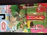 yummy world keychain hot dog - Kidrobot Yummy World 3D Vinyl Keychain (Franky Hotdog)