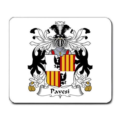 pavesi-family-crest-coat-of-arms-mouse-pad