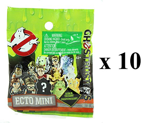 Ghostbusters Glow in the Dark Ecto Minis Figures Mystery Blind Party Bag Pack of (Ghostbusters Party Favors)