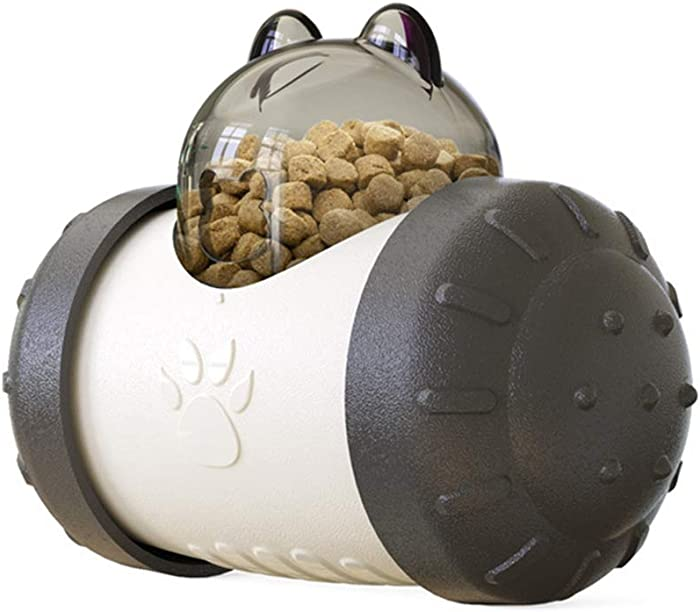 Patgoal Pet Slow Feeder Toy, Dog Puzzle Toys, Interactive Dog Toys, Treat Dispensing Dog Toys IQ Treat Ball