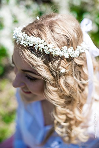 Beaded Diamond Crown by MadeByChic