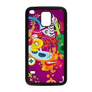 Creative Cartoon Animal Pattern High Quality Custom Protective Phone Case Cove For Samsung Galaxy S5