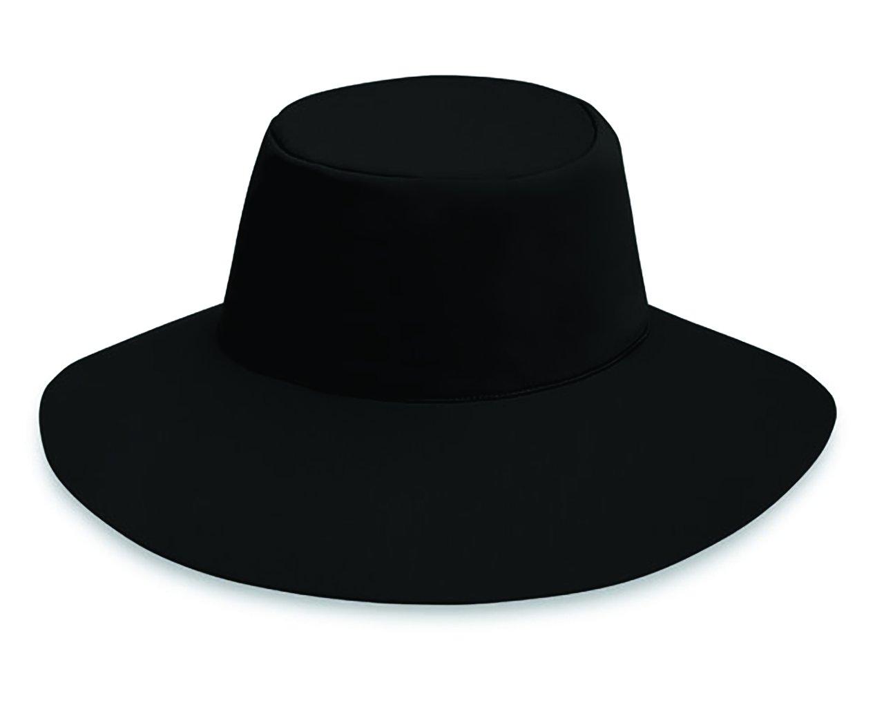 Wallaroo Hat Company Women's Aqua Hat - Black - UPF 50+, Ready for Adventure