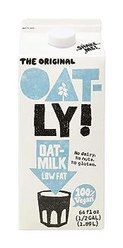 Oatly Low Fat Oat Milk